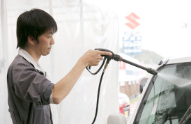 プロの洗車・コーティングサービス!
